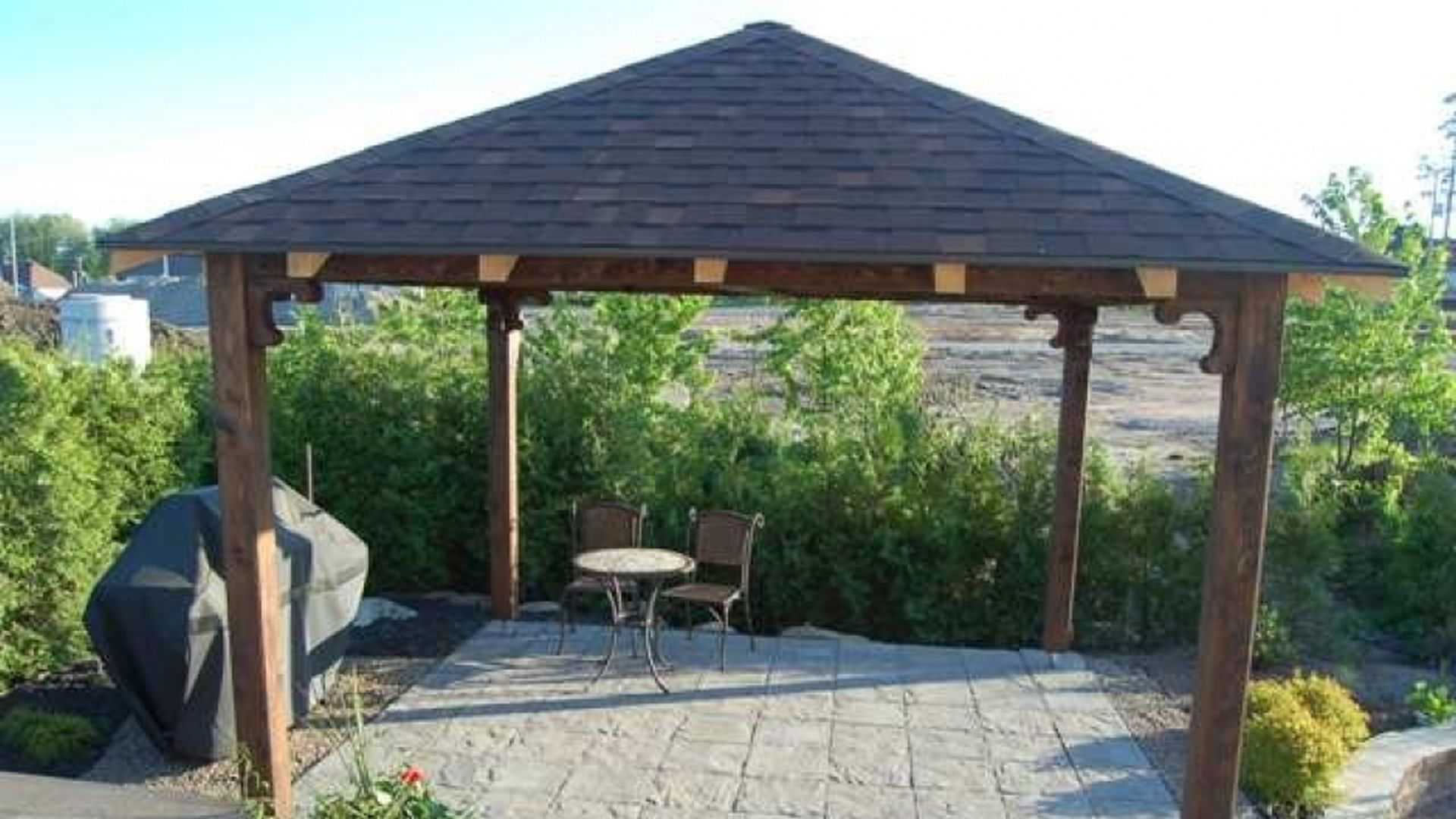 beautiful gazebo en bois gallery