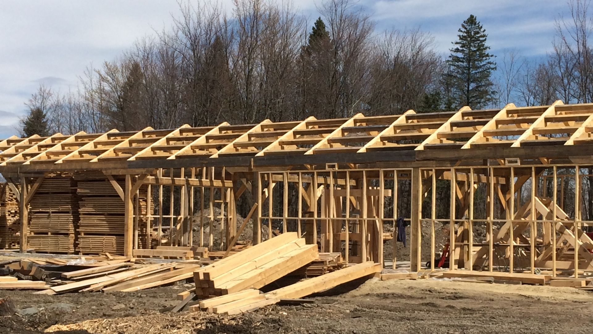 Our timberframe projects