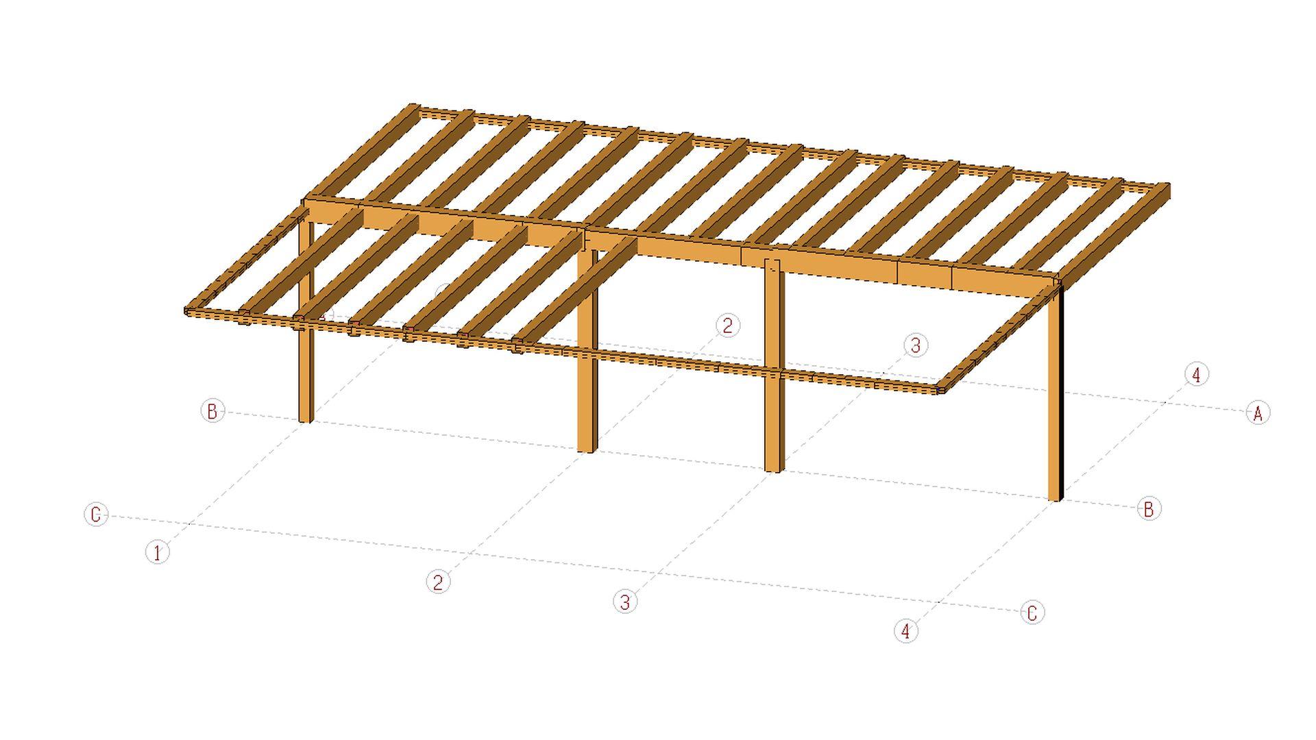15086 structure de bois massif for Structure de bois